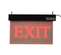 Acrylic Exit Sign with Backup