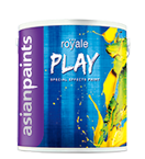 Soft Sheen Asian Paints Royale Play, Packaging Type: Can, Packaging Size: 1 Lit