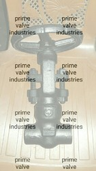 L & TForge steel A105 high pressure globe valve