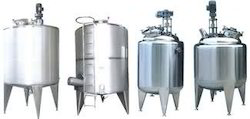 Stainless Steel Storage Tank With Stirrer