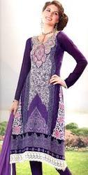 Embroidery Ladies Long Suit