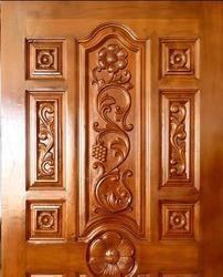 Teak Wood Carving Door - Carving Teak Door Manufacturers & Suppliers