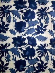 Floral Block Printed Fabrics