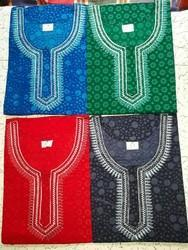 OSP BRAND Ethnic Cotton Embroidery Nighties, Size: XL SIZE