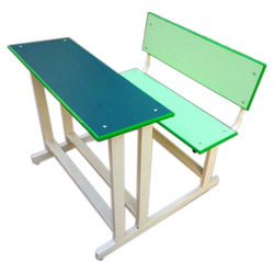 Duel Desk Green Pista Shade Pipe Frame