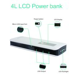 4L Display Power Bank