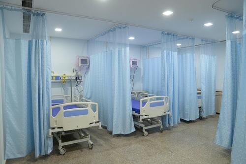 curtains light track brown cubicle w privacy curtain with medical x h flexible hospital spa