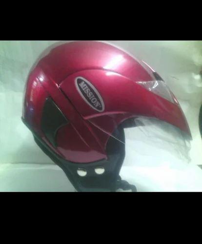 Plastic Helmet Open Face