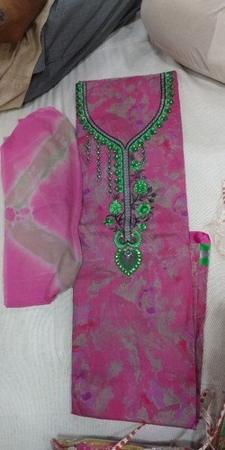 Ladies Cotton all over Suit