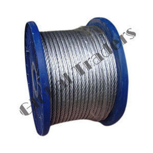Global Traders Galvanized Steel Wire Rope, Rs 12 /meter | ID: 2569189948