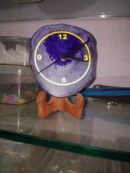Decorative Agate Stone Clock