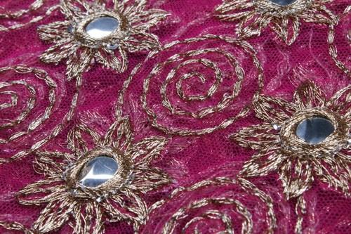 6a6fd06e4b3c24 Mirror Work, Golden Work Fabric,Fancy Fabric, फैंसी कपड़े ...