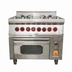 Four Burner Range Oven