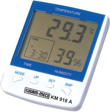 3.5 Digit Thermo Hygrometer, Clock, Temperature