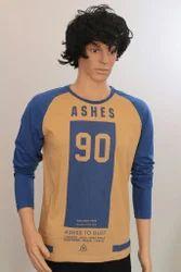 Men's Cotton Fancy T-Shirt, Size: S to XXL