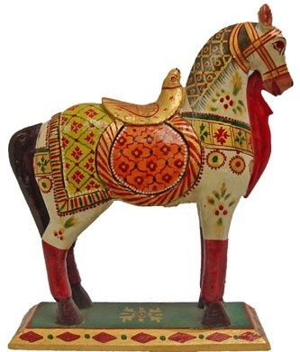 Ideal Wooden Horse at Rs 2500 /piece | Wooden Horse - Hastkala Arts  ZY02