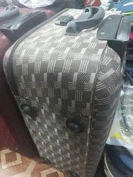 Wheeling Cotton Suitcase