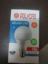 12W LED Polycab Bulb