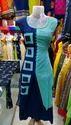 Simple Printed Gown