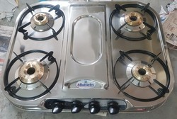 Butterfry 4 Burner Steel Gas Stove