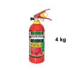 4 Kg Clean Agent Fire Extinguishers