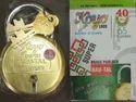 Brass Golden Padlock 65mm