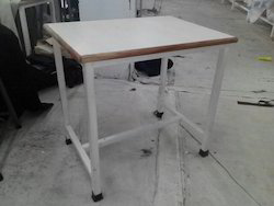 Adva-Tech Steel and Wood Table