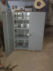 Slotted Angle Rack With Doors