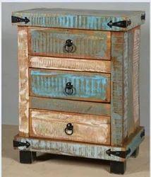 Reclaimed Wood Bedside - Reclaimed Wood Furniture