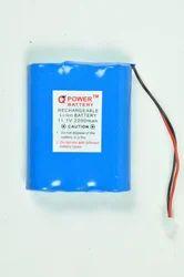 11.1V 2200mAh Solar Light Battery