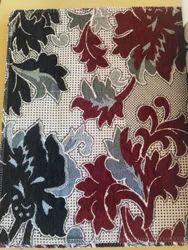 54-55 Inch Flower Design Designer Chenille Fabric, For Making Of Sofa,Floor, For Hotel