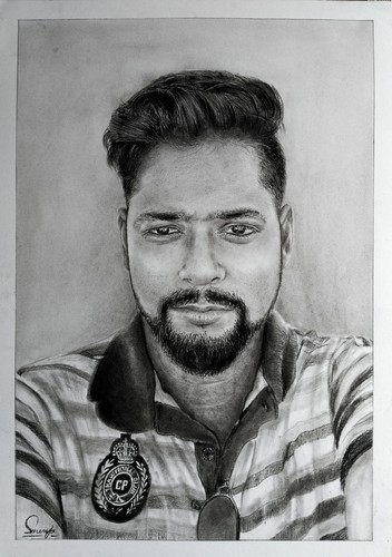 Pencil sketch and portrait art service