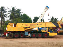 80 Ton Telescopic Hydraulic Crane
