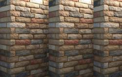 Clay Corner Brick Slip