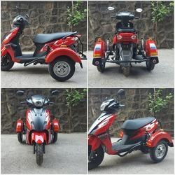 Side Wheel Attachment on Suzuki Access