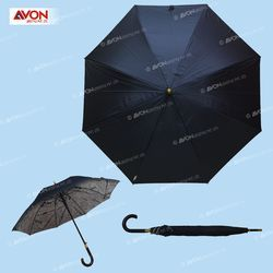 Double Layer Black Color Umbrella