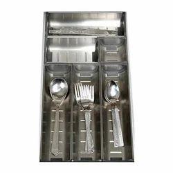 Ss Cutlery Tray