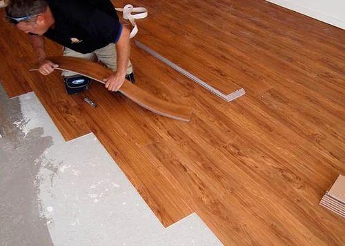 Wooden Vinyl Plank Flooring At Rs Per Square Feet वनइल - Where to start vinyl plank flooring