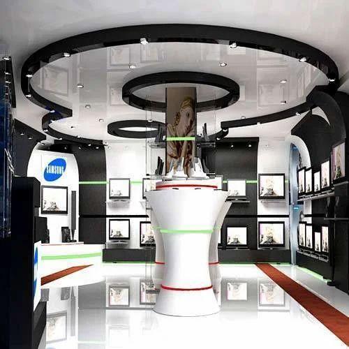 Interior Designing Services: Showroom Interior Designing Services In Janakpuri, Delhi