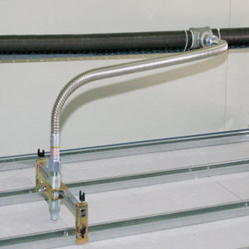 install sprinkler system flexible pipe