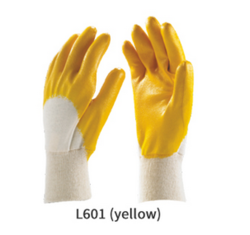 Nitrile Light Coated Gloves with Knite Wrist