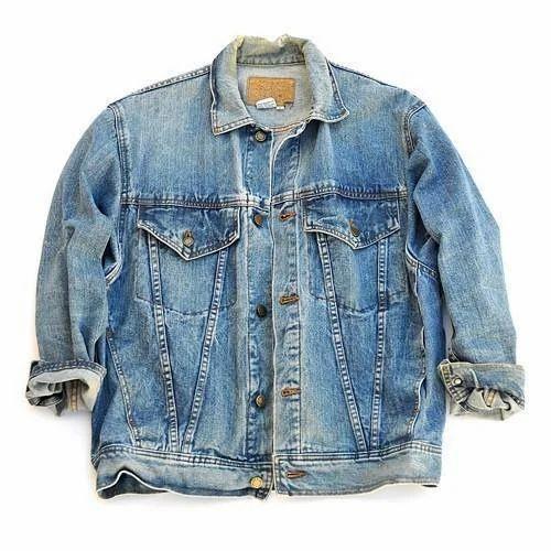 Mens Vintage Denim Jacket, Mens Denim Jacket - Bunkel Garments ...
