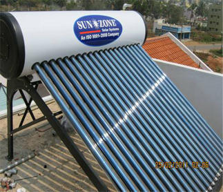 Evacuated Tube Collector ETC Type Systems - SUNZONE SOLAR