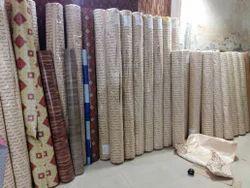 Brown PVC Vinyl Flooring, Size: 5ft 6.6ft