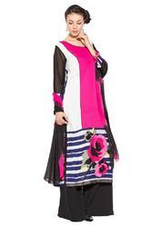 Long Designer Pakistani Style Party Wear Salwar Suit