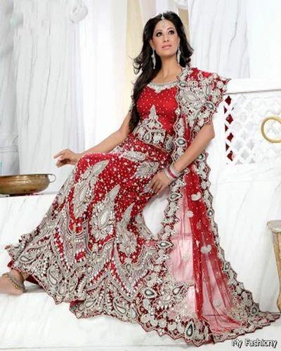8df7db6a14 Wedding Bridal Lehenga Suit at Rs 15000 /piece   Bridal Lehenga   ID ...