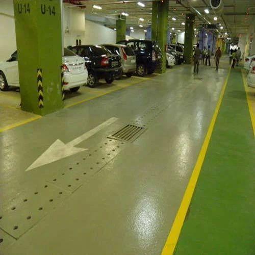Epoxy Flooring Kerala: Commercial Building Heavy Duty Epoxy Flooring Service, Rs