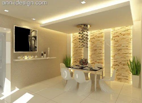 Gypsum Board Living Room Ceilings, Rs 80 /feet Ceiling ...