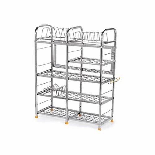 Kitchen Shelves And Racks Online: Stainless Steel Kitchen Rack, Ss Kitchen Racks, Stainless