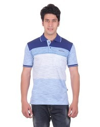 Striped Collar T-Shirt